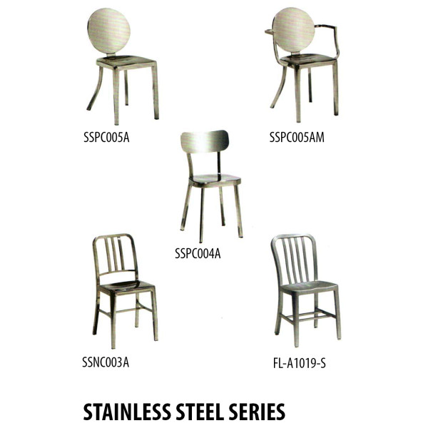 FIO-Stainless Steel Chair